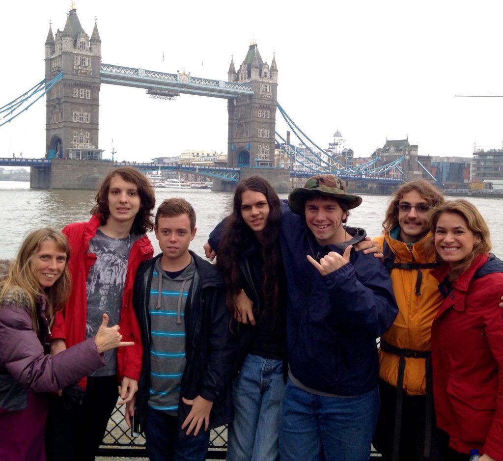 Harry Singha YLS UK trip London Bridge